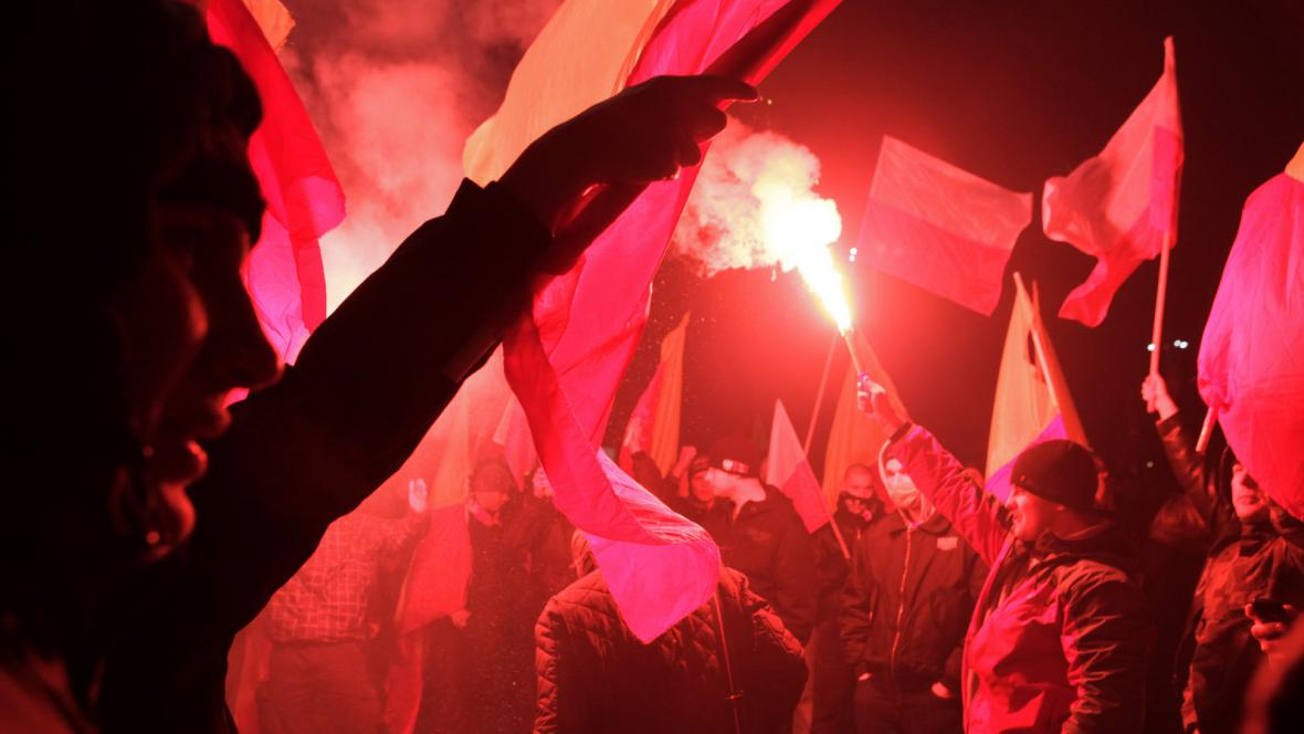 Demonstrace ve Varšavě
