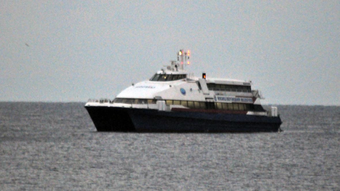 Unesený turecký trajekt