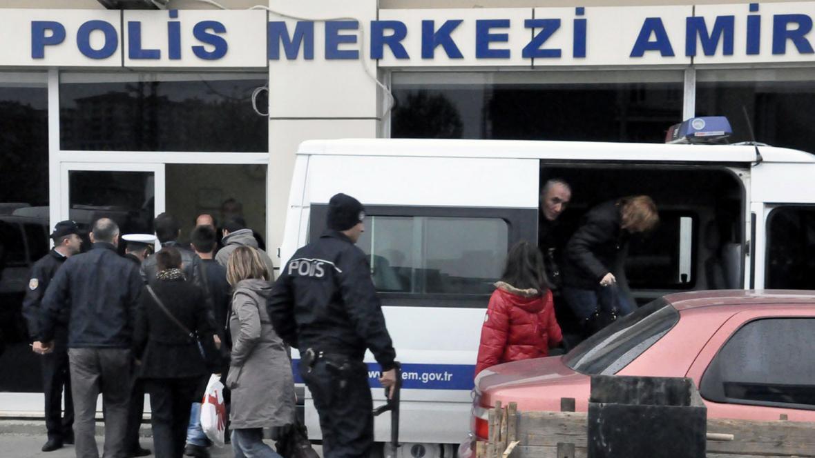 Zásah tureckého komanda