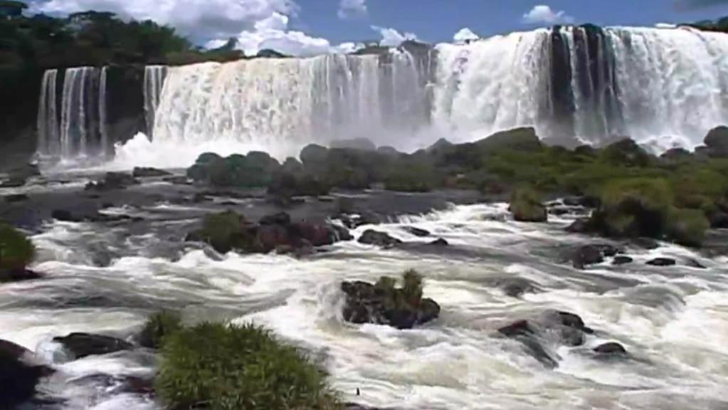 Vodopády na řece Iguazú (Argentina, Brazílie)