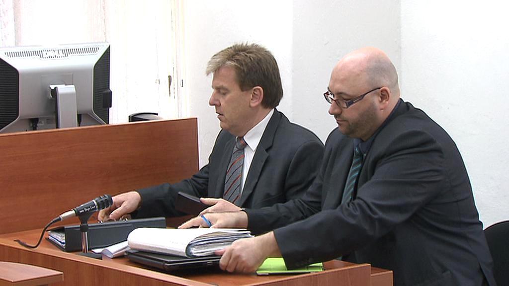 Miloslav Vlček u soudu