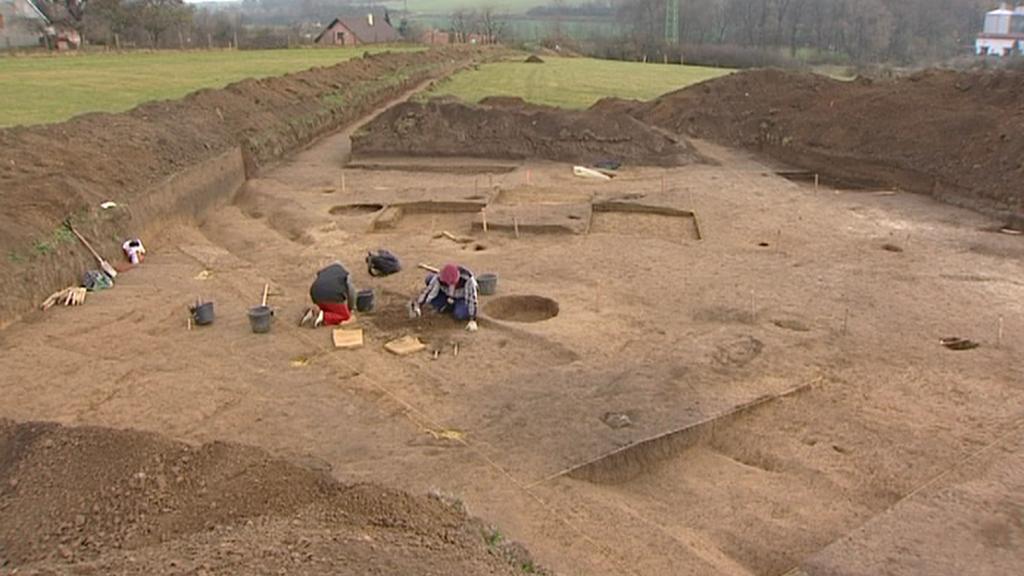 Archeologické naleziště - pohřebiště z doby bronzové