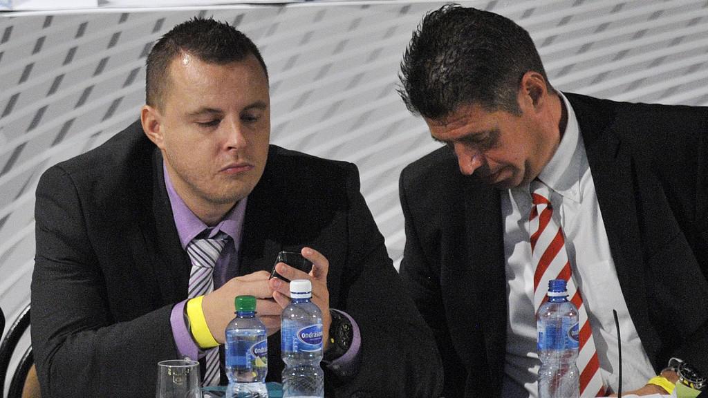 Jindřich Rajchl (vlevo) a Petr Doležal