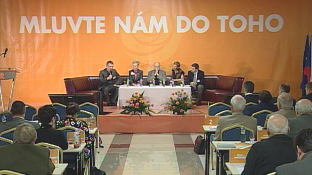 ČSSD - programová konference