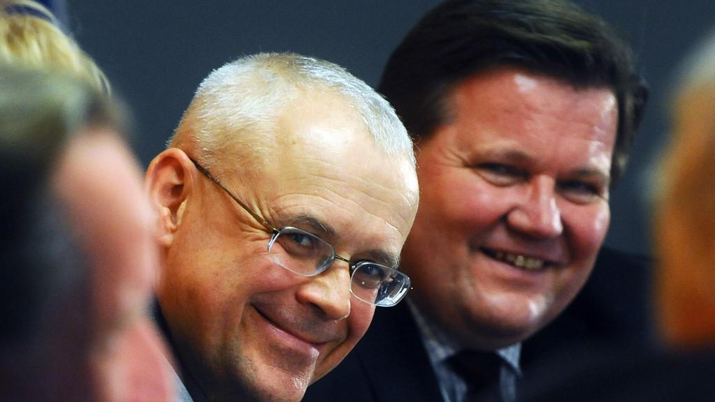 Vladimír Špidla a Zdeněk Škromach