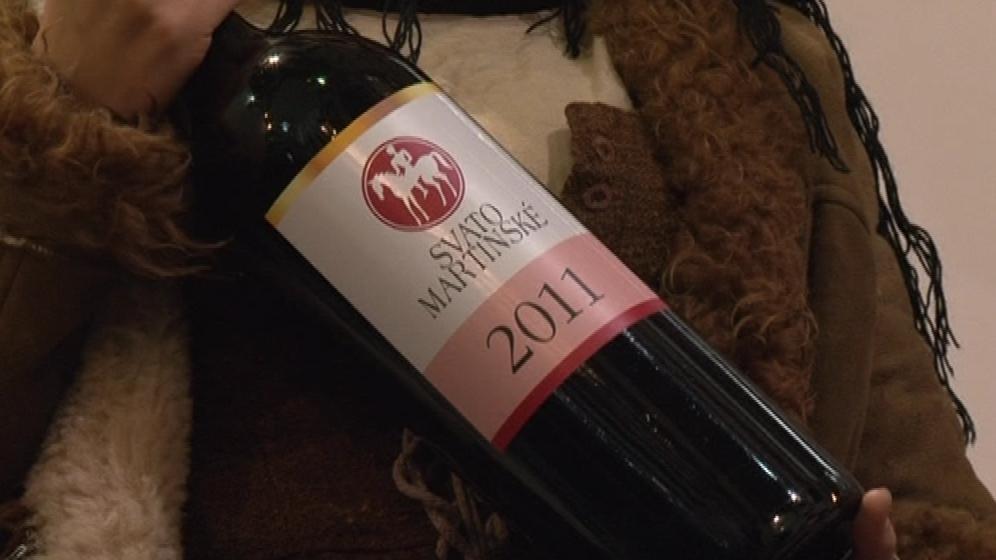 Letošní svatomartinské víno