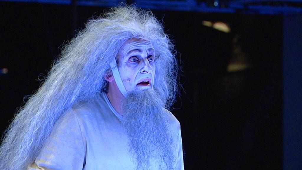 David Prachař jako král Lear