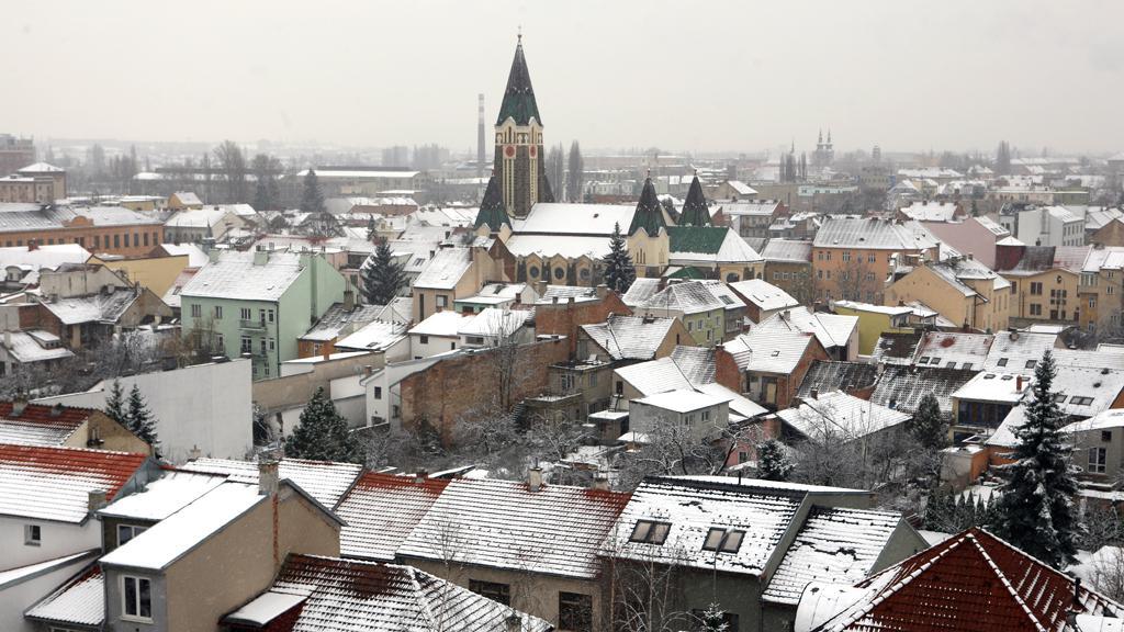 První sníh v Brně