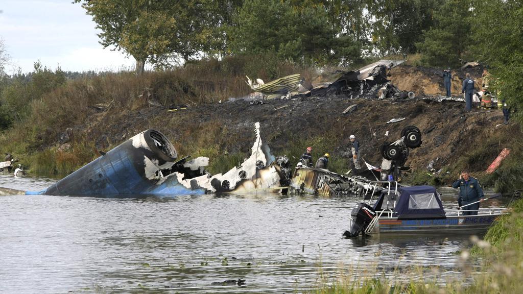Nehoda letadla u Jaroslavle