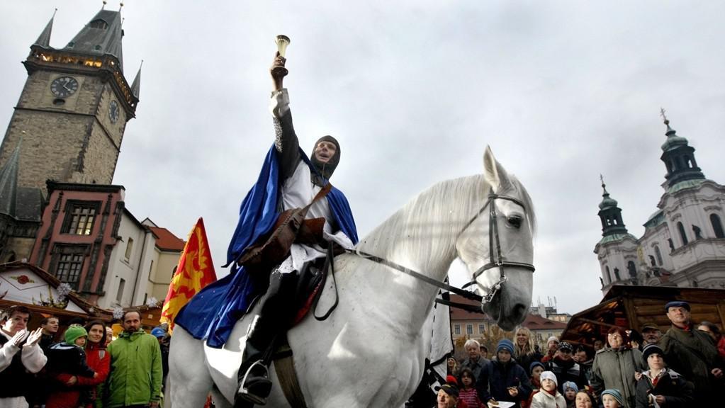 Svatý Martin na bílém koni