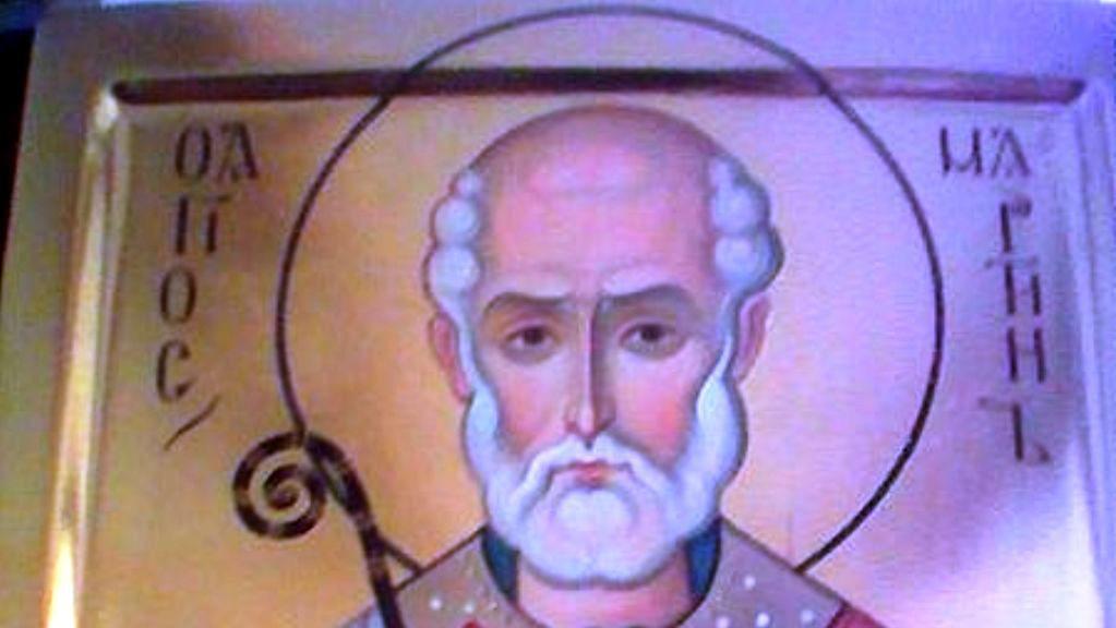 Sv. Martin vyobrazený jako biskup