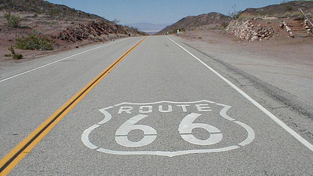 Legendární dálnice Route 66