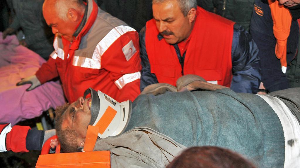Oběť zemětřesení v Turecku