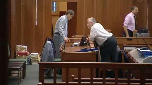 Studénka - další den u soudu