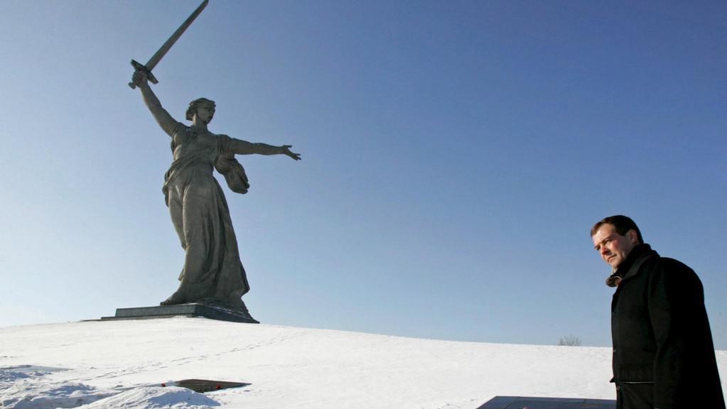 Ruský prezident ve Volgogradě