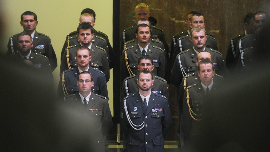 Vyznamenaní vojáci z Afghánistánu