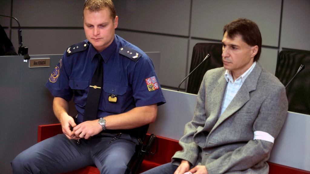 Odsouzený Miroslav Hradilík