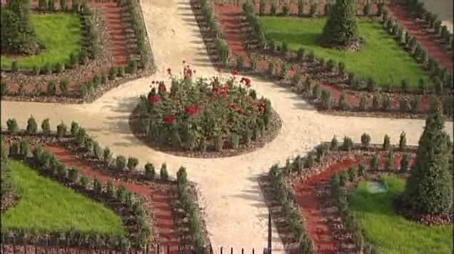 Parkánové zahrady v areálu univerzity