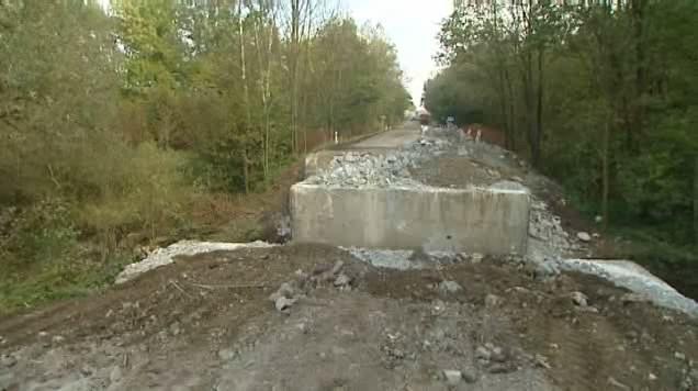 Zbouraný most