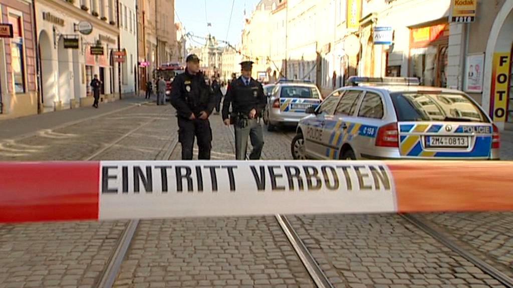 Policie ulici 8. května uzavřela