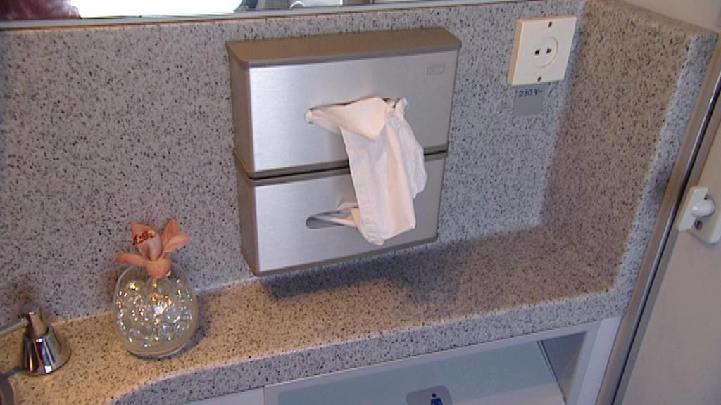 Toalety v RegioJetu