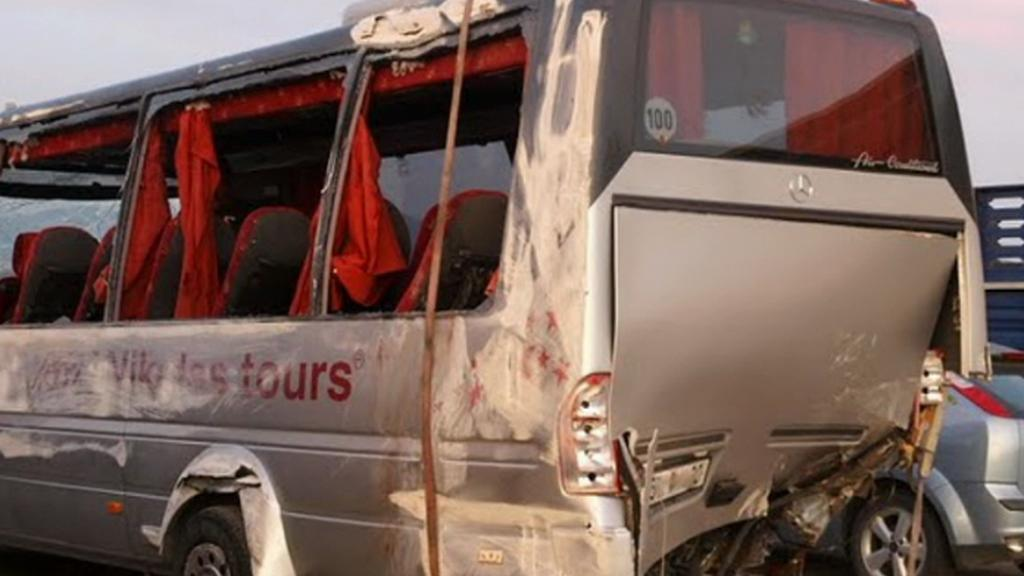 Tragická havárie autobusu v Řecku