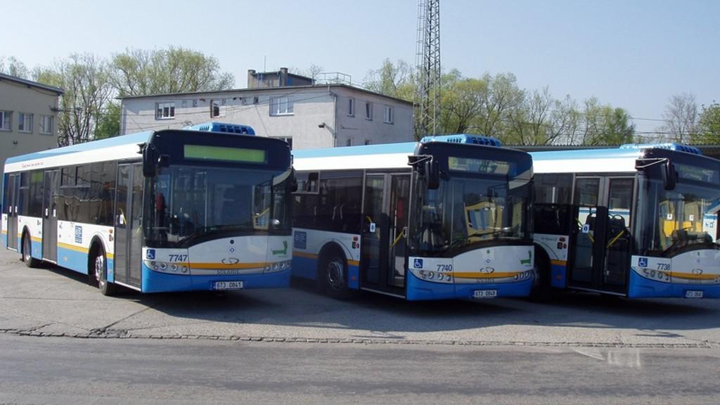 Ostravské autobusy
