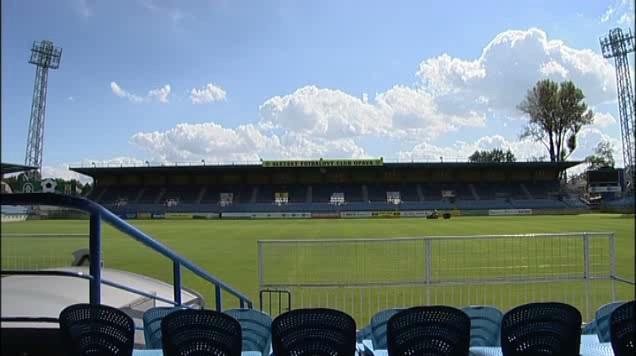 Opavský fotbalový stadion