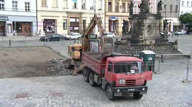 Rekonstrukce Dolního náměstí
