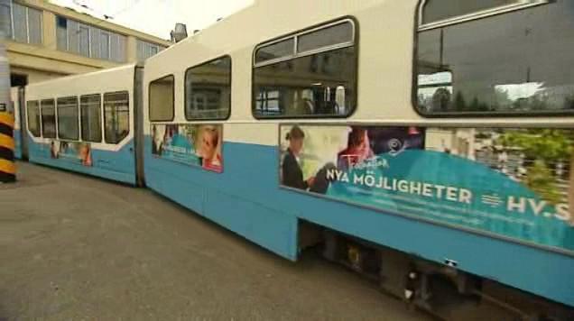 Švédské tramvaje v Ostravě