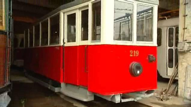 Staré vozy DP Ostrava
