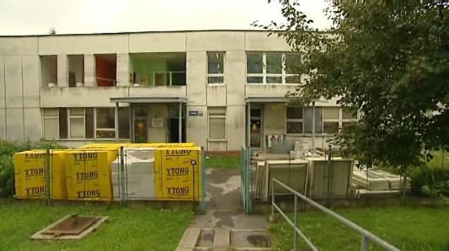 Rekonstrukce jedné z ostravských škol