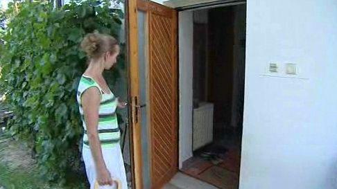 Majitelka vykradeného domu