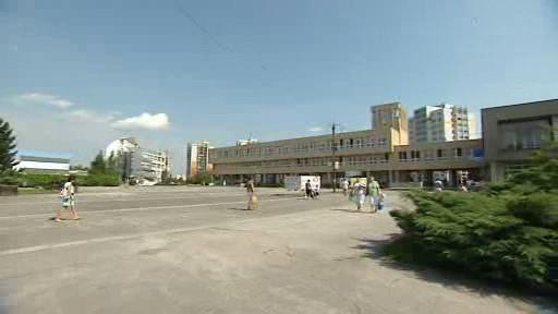 Dosavadní centrum Orlové