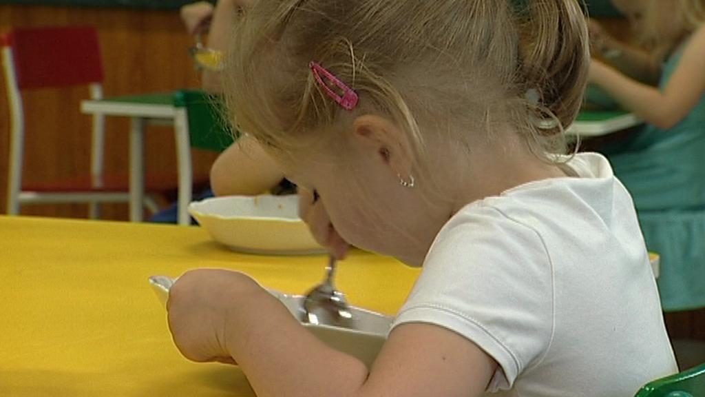Oběd v mateřské školce