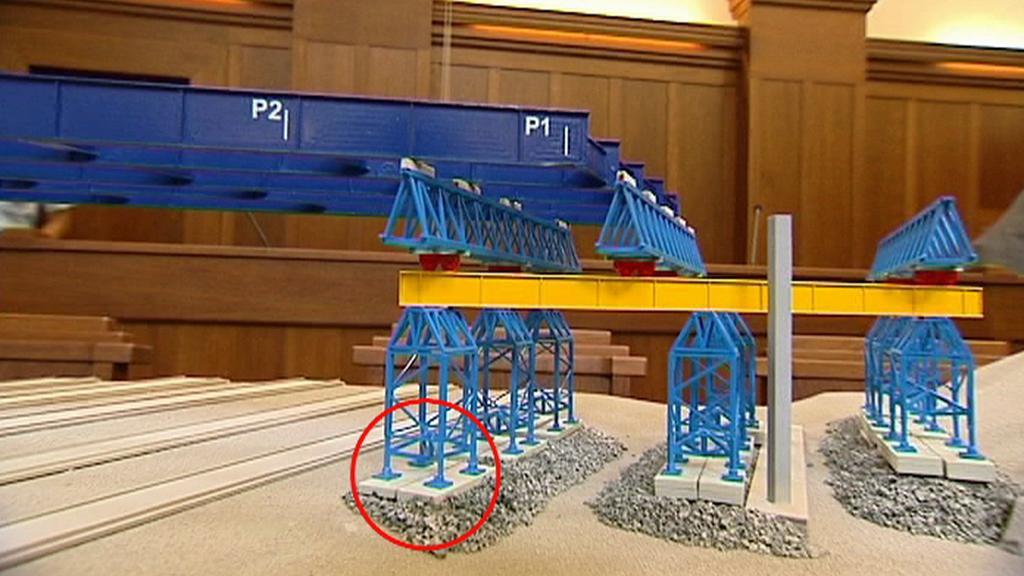 Model mostu ve Studénce
