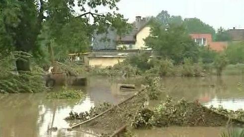 Povodně na Novojičínsku - archiv