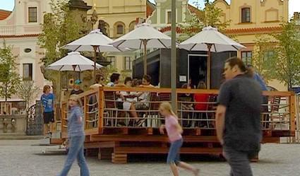 Kiosek na havlíčkobrodském náměstí