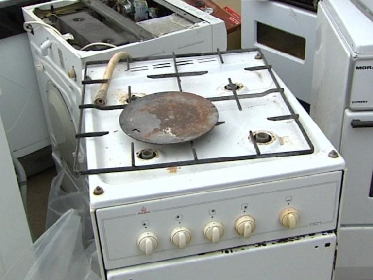 Vysbírané elektrospotřebiče
