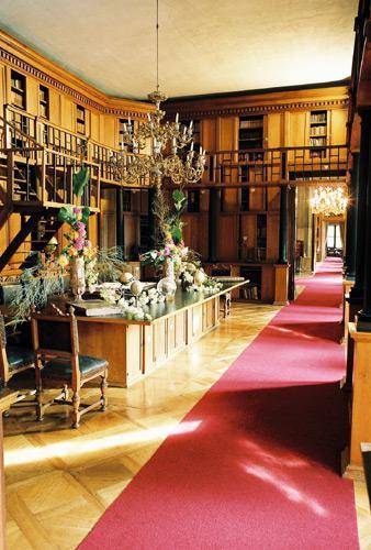 Interiér rájeckého zámku