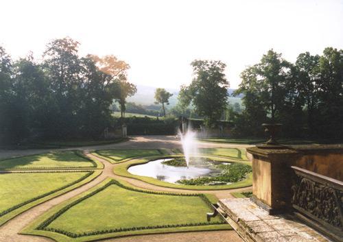Zahrada rájeckého zámku
