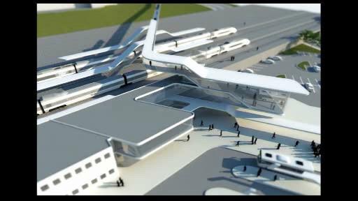 Projekt nového dopravního terminálu