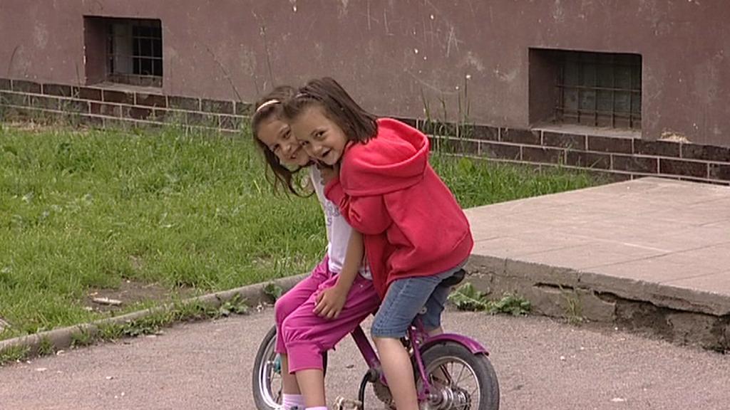 Romské děti v Bruntále