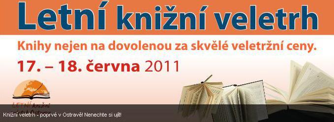 Letní knižní veletrh Ostrava