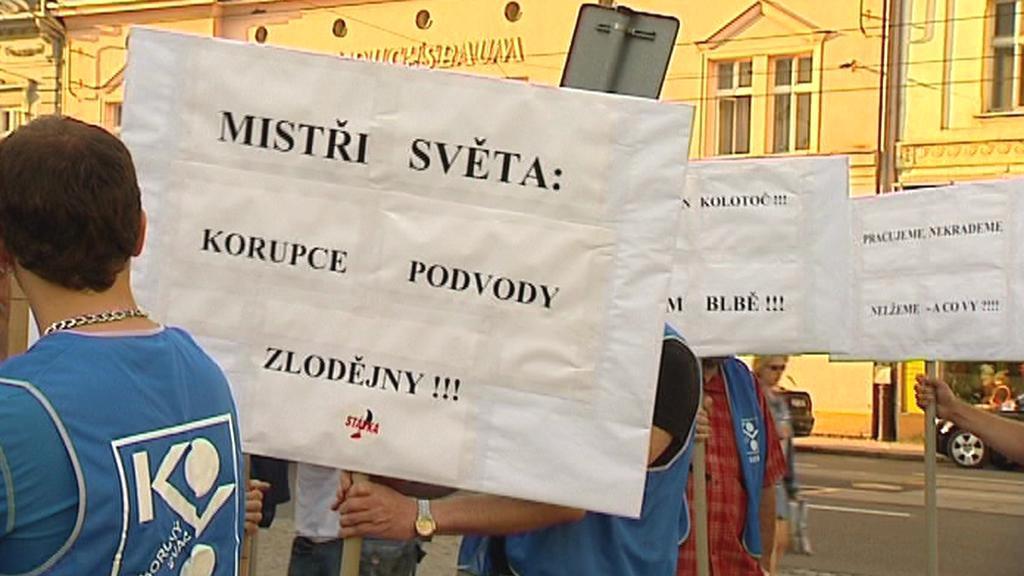 Odboráři v Ostravě