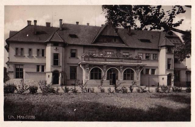 Nádraží v Uherském Hradišti (1942)