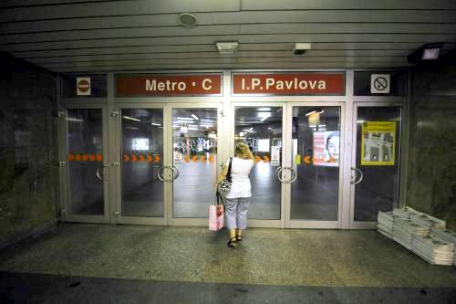 Stávka v pražském metru