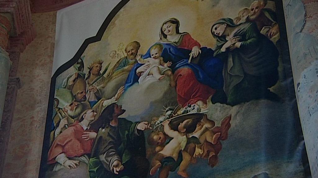 Replika barokního díla