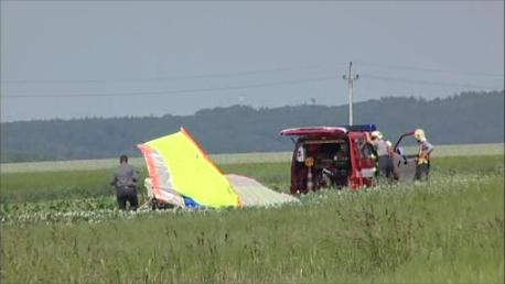 Hasiči ani záchranáři už nemohli pilotovi pomoci