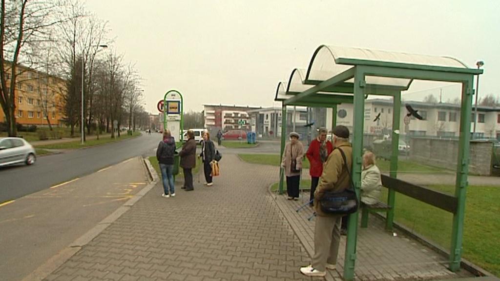 Zastávka autobusu MHD